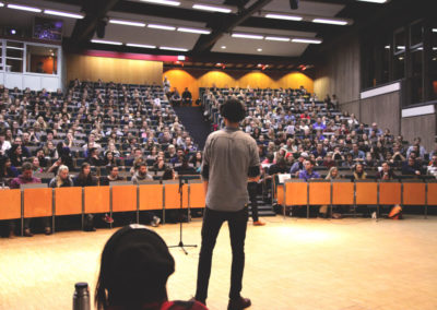 Profi beim Poetry Slam
