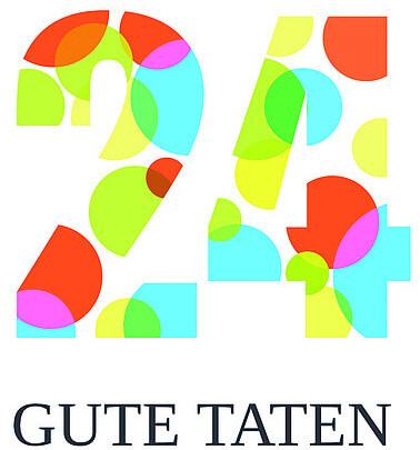 Logo 24 gute Taten