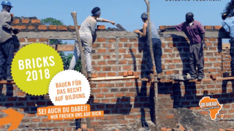 Bauen für das Recht auf Bildung – Freiwillige gesucht
