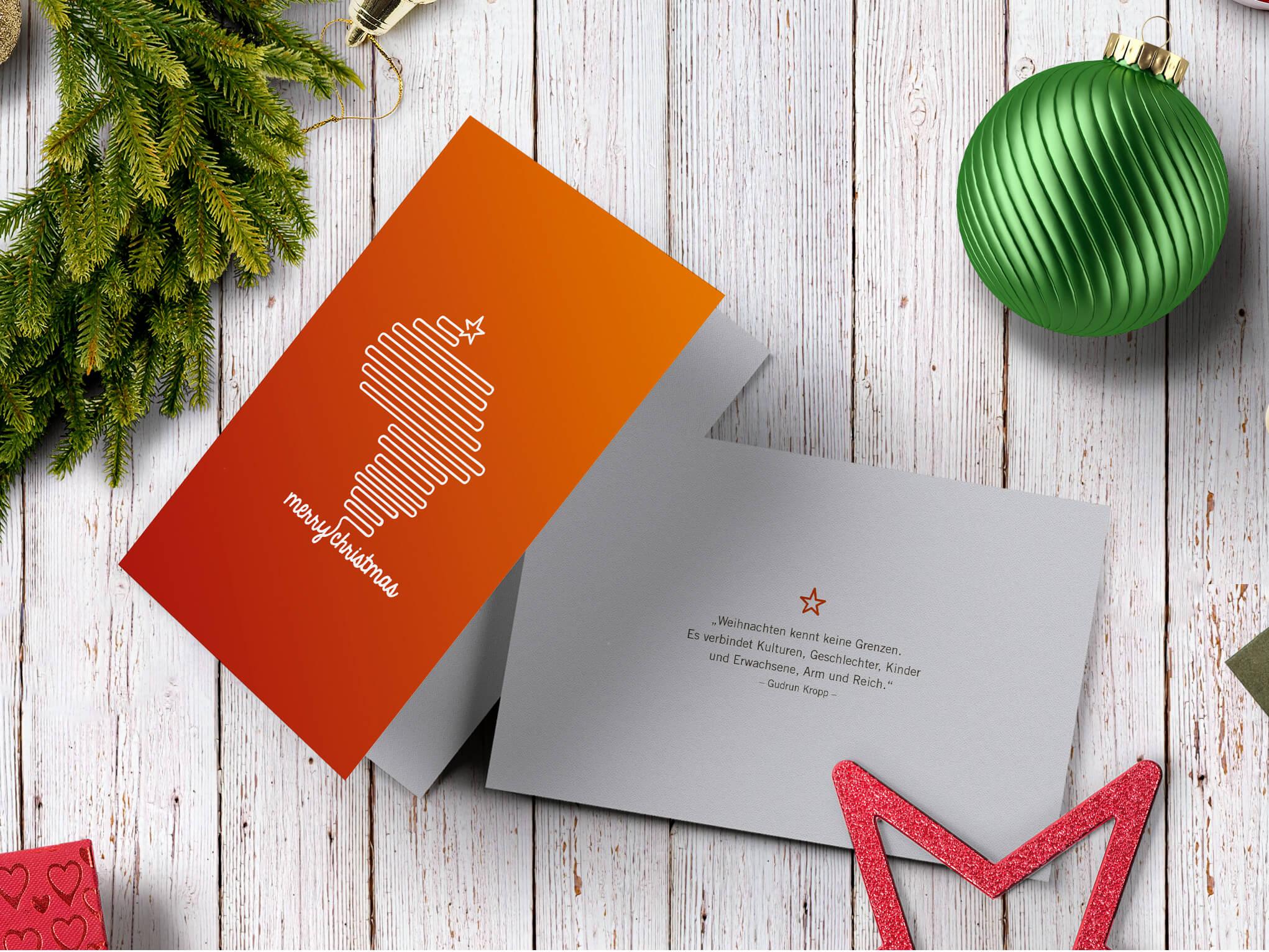 Weihnachtskarten Mit Gutem Zweck.Die Go Ahead Weihnachtskarten Go Ahead