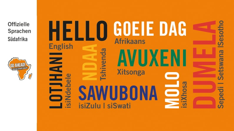 Sprachen in Südafrika